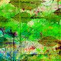 Debbie Portwood - Colorful Leaves Abstract...