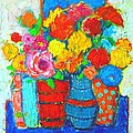 Ana Maria Edulescu - Colorful Vases And...