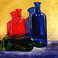 Alena Rumak - Colorfull bottles 2