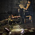 Debra and Dave Vanderlaan - Copper Teapot
