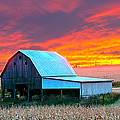 Randall Branham - Corn Patch Barn Sundown