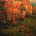 R W Goetting - Corniglia at dusk