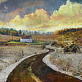 R christopher Vest - Country Road Early Spring