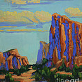Maria Hunt - Courthouse Rock in Sedona