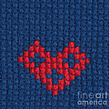 Kerstin Ivarsson - Cross-stitched heart