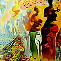 MONA EDULESCO - Emona Art - Dali Oil Painting...
