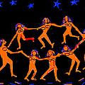 Anand Swaroop Manchiraju - Dancers In A Starry Night