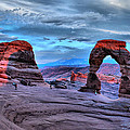 Gregory Ballos - Delicate Arch at Sunset