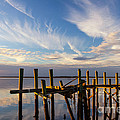 Dawna  Moore Photography - Dilapidated Dock in...