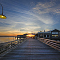 Debra and Dave Vanderlaan - Dock Lights at Jekyll
