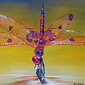 Phyllis Beiser - Dragonfly Colors