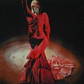 Cherise Foster - Dramatic in scarlet