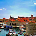 Joan  Minchak - Dubrovnik Old Harbour