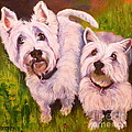 Susan A Becker - Duet of Westies
