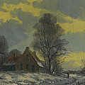 Nop Briex - Dutch snow landscape by...