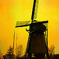 Yvon -aka- Yanieck  Mariani - Dutch WindMill - Yellow