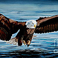 Bill Dunkley - Eagle Over Water