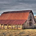 Tony  Colvin - Early Morning Barn