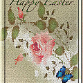Debra     Vatalaro - Easter Stain Glass Card