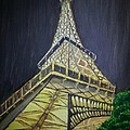 Irving Starr - Eiffel Tower At Night