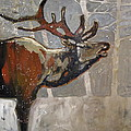 Peggy Judy - Elk in Snow