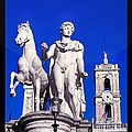 Stefano Senise - Equestrian statue at...