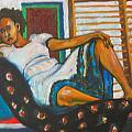 Esther Newman-Cohen - Ethiopian Girl Reclining