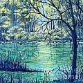 Suzanne Theis - Evening at the Bayou