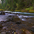 Larry Goss - Evening on the Santiam...