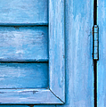 David Letts - Faded Blue Shutter VI
