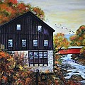 Shirl Theis - Fall Barn and Covered...