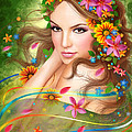 Alena Lazareva - Fantasy Beautiful fairy...