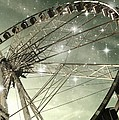Marianna Mills - Ferris Wheel at Night in...