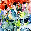 Trudi Doyle - Field Poppies