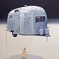 Jeffrey Bess - Floating Airstream