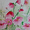Ismeta Gruenwald - Flowers - watercolor...