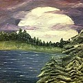 Joy Borsavage - Forest Full Moon