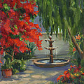 Maria Hunt - Fountain in the Courtyard