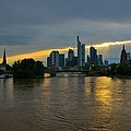Steven Richman - Frankfurt Sunset