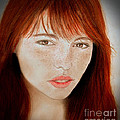 Jim Fitzpatrick - Freckle Faced Beauty II