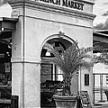 Jerry Fornarotto - French Market NOLA BW