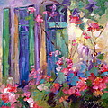 Carol Hopper - French Roses and Windows