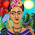 Genevieve Esson - Frida Kahlo With Monkey...