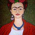 Madalena Lobao-Tello - Frida portrait with...