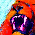 Sue Jacobi - Funky Lion Roaring...