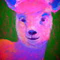 Sue Jacobi - Funky Pinky Lamb Art...