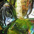 Sarah Loft - Glass Abstract 133