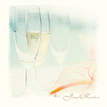 Jenny Rainbow - Glass of Champagne....