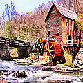 Nadine Johnston - Glen Creek Grist Mill...