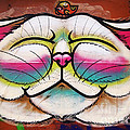 Victoria Herrera - Graffiti Smiling Cat...
